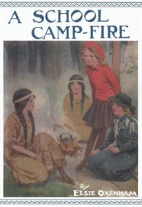 Picture of A School Camp-Fire